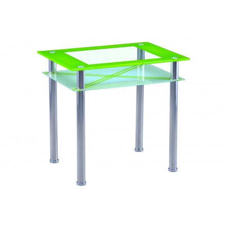 Jídelní stůl B 66, zelený