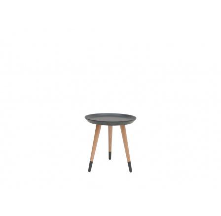 stolek LAWA 024 (TXL024)  šedá/buk přírodní (TX062/TX002)
