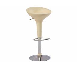 A -148 (KROA148LK) -Židle barová- krémová (S) -  (K150-Z)