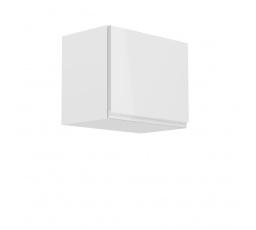Kuchyňská horní skřínka - ASPEN G50K, bílý lesk