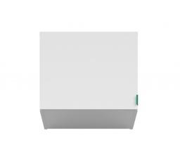PRINCETON NAD/50 (nadstavec nad skříň) bílý lesk/zelená