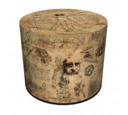 COLOURS taburet - PU68 - Da Vinci - (AR) (Z)