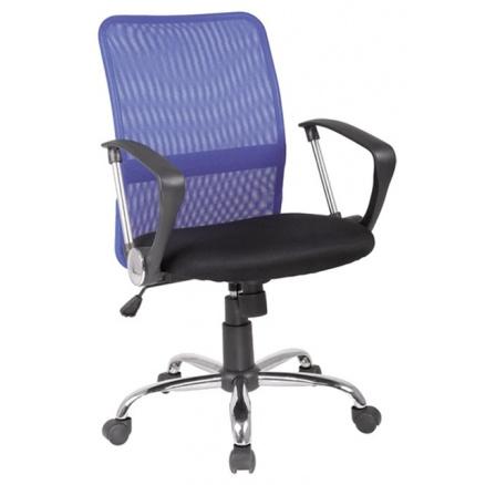 Kancelářské křeslo Q-078 Modré