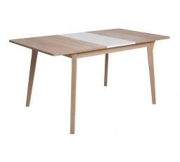 stůl  FARIO dub sonoma/bílá alpská