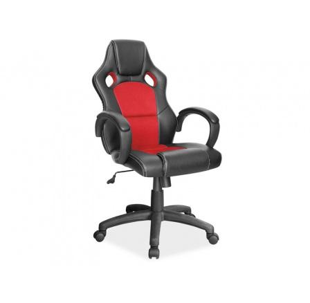 Kancelářské křeslo Q-103/ černá,červená