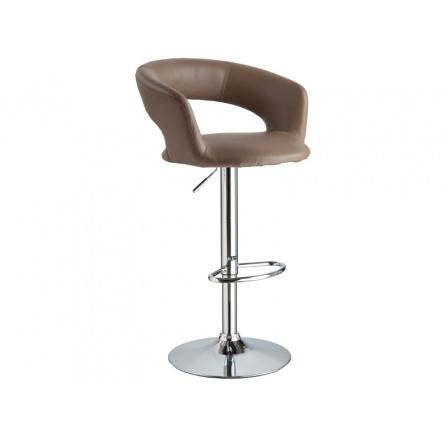 Barová židle Krokus C-328 hnědá