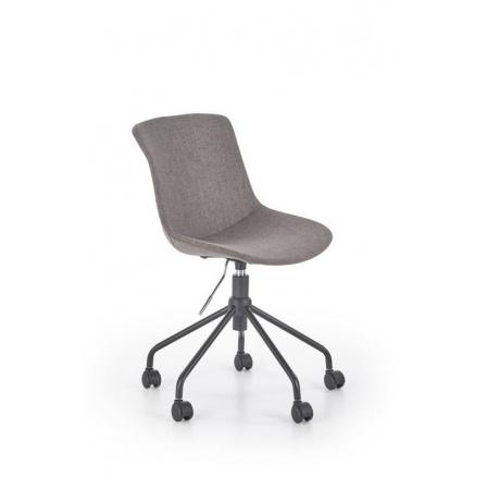 Dětská židle DOBLO, šedá