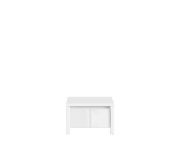 KASPIAN KOM1S bílá/bílý lesk