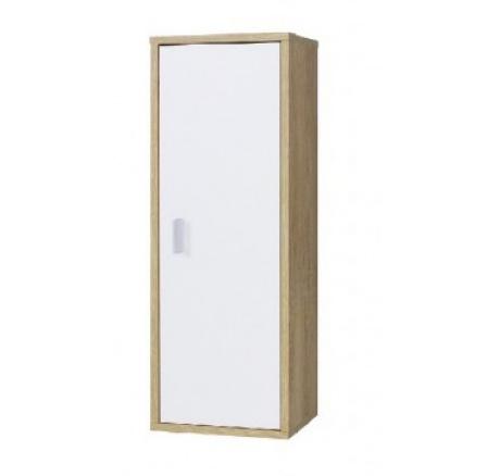 Závěsná skříňka Paris R8 dub lefkas/bílá