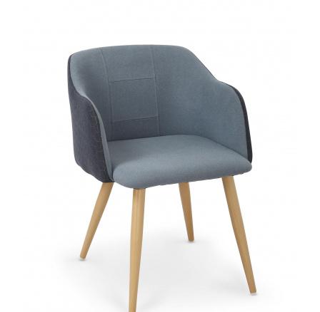 Jídelní židle K288 modrá/granát