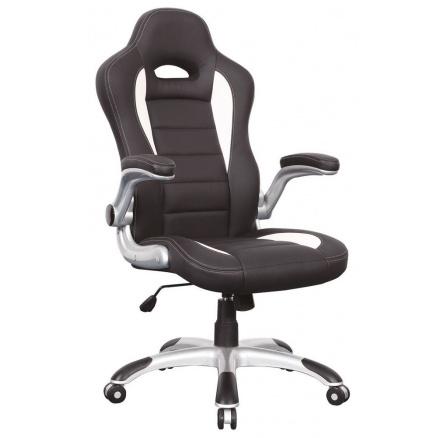 Kancelářské křeslo Q-024 /černá,bílá