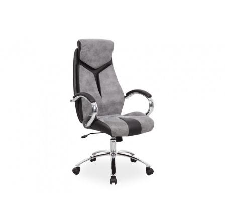 Kancelářské křeslo Q-165 /černá,šedá