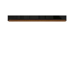 AROSA POL/150 dub braz/černý lesk