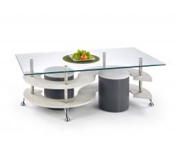 Konferenční stůl NINA 5 Tmavě šedá/ Šedá