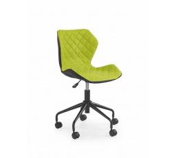 Dětská židle MATRIX /černá+zelená