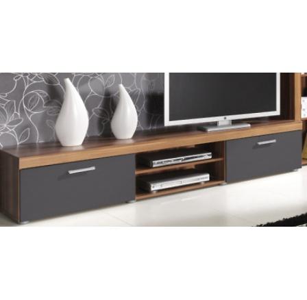 TV stolek Samba R8 svestka/grafit