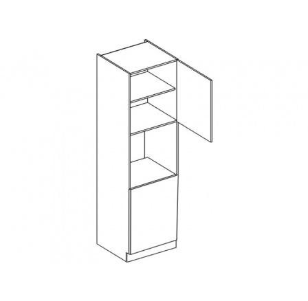 ROYAL  - skříňka vysoká 60cm D60P