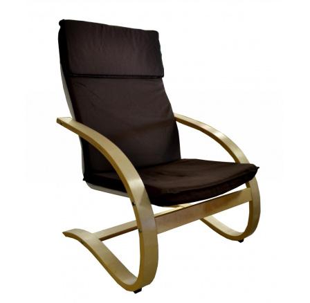 Relaxační křeslo hnědé