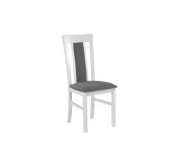"""MIA VIII (MILANO VIII)- jídelní židle  bílá,tk.19A -kolekce """"DRE""""  (K150-Z)"""