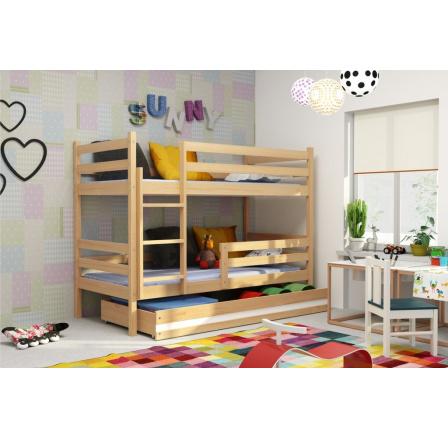 Patrová postel Norbert borovice