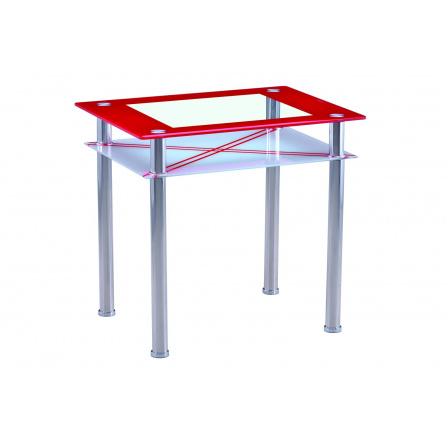 Jídelní stůl B 66, červený