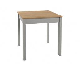 stůl  BRYK MINI   dub burlington allover/modřín sibiu šedý