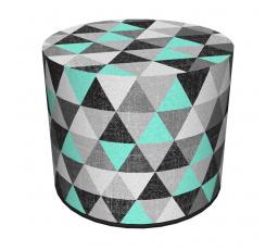 COLOURS taburet - PU63 - figaro (trojúhelníčky) - (AR) (Z)