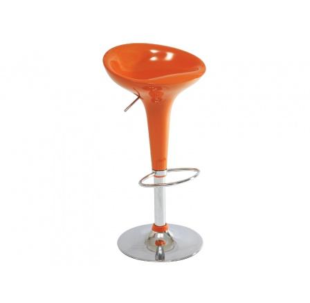 Barová židle Krokus A-148 oranžová