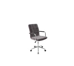 židle kancelářská Q22 šedá velvet