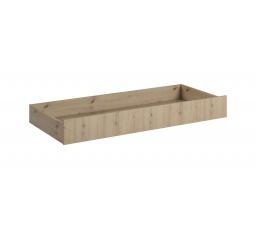Šuplík pod postel MALTA L1-160, Dub Artisan + Grey