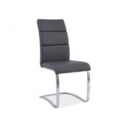 Jídelní židle H-456 - šedá