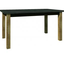 Jídelní stůl MONTANA  STW, Dub Lefkas+ Smooth Grey