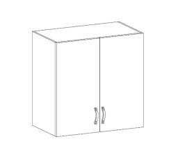 ROYAL  - horní skříňka 80cm G80