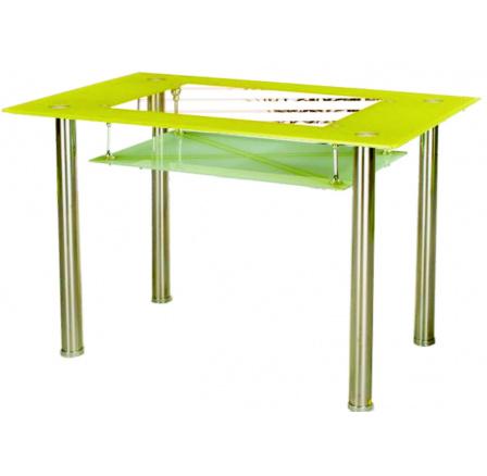 Jídelní stůl B 175, zelený