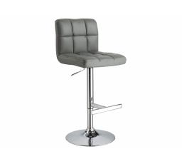C-105 KROKUS  (KROC105S) -Židle barová- eco šedá  (S) -  (K150-Z)