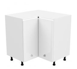 Kuchyňská dolní skřínka - ASPEN D90N, bílý lesk
