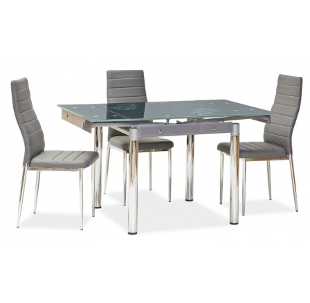 Jídelní stůl GD-082, šedý