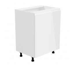 Kuchyňská dolní skřínka - ASPEN D60 (L/P), bílý lesk