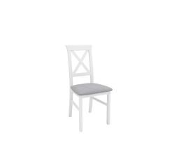 židle ALLA 3 - bílá teplá (TX098)/Adel 6 grey