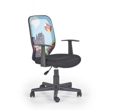 Dětská židle KIWI City /černá